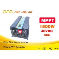 Wholesale Off Grid Solar PV Sun Power Inverter Single Phase Ups Dc Ac 12v 24v 48v To 110v 220v 1500w from china suppliers
