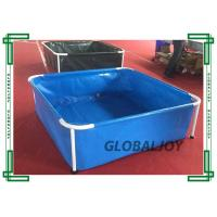Wholesale Family Kids Mini Metal Frame Inflatable Water Pool For Swimming from china suppliers