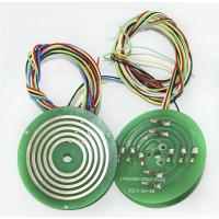 Wholesale Electrical Low Noise Platter Pancake Slip Ring With 2 Circuits , Power And Various Signal Combination from china suppliers