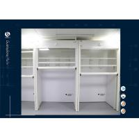 Wholesale School Floor Mounted Walk In Fume Hood Exhaust Fuming Cupboard Ventilated Chamber from china suppliers