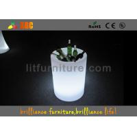 Wholesale Square Acrylic LED Ice Bucket , Led Wine Canbinet For Wine / Beer from china suppliers
