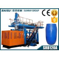 Wholesale Fully Automatic Blow Moulding Machine , 200 Litre Blue Plastic Drum Making Machine SRB120A from china suppliers
