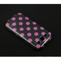 Wholesale Wave Dot  Hard Leather Case For Samsung Galaxy Note S2  i9300 from china suppliers