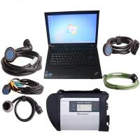 Wholesale Wireless MB SD C4 Mercedes Diagnostic Tool With I5 CPU 4G Memory Lenovo T410 from china suppliers