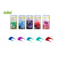 Wholesale Double Dolphin  Plastic Air Freshener Four Scents Hanging In Carfor Rear - view Mirror from china suppliers