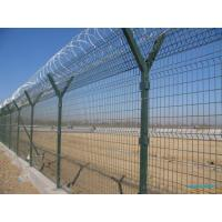 Wholesale Pvc Coated Wire Hot Galvanized Mesh Fencing Panels For Garden Denfence, Facoty Fence from china suppliers