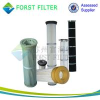 Buy cheap FORST Industrial Polyester Material Pleated Bag Air Filter Manufacturer from wholesalers