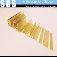 Wholesale Copper Alloy Custom Extruded Profiles / Decorative Copper Profiles from china suppliers