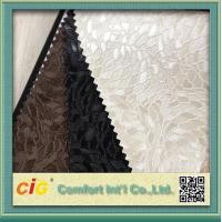 Wholesale PVC Vinyl Embossing Synthetic Leather Upholstery Fabric for Furniture / Bag / Garment from china suppliers