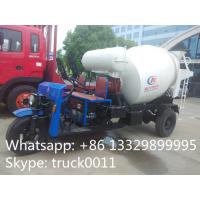 Wholesale 1.5cbm 3 wheels mixer truck for sale from china suppliers