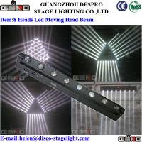 Wholesale Sound Activated LED Moving Head Beam Light With White Mini Stage Light from china suppliers