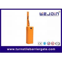 Wholesale Orange Housing Barrier Gate Arms with Fast Speed Motor and Iron Material from china suppliers