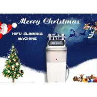 Wholesale Vertical Ultrasound Shaping HIFU Body Slimming Machine For Fat Removal / Tight Skin from china suppliers