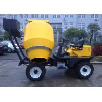 Wholesale 450L Mixing Capacity Diesel Self Loading Mobile Concrete Mixer  With Yanmar Engine Hydraulic Wheel System from china suppliers