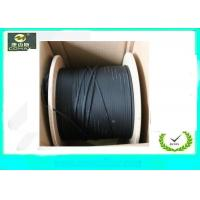 Wholesale G657A LSZH Jacket FTTH Indoor Drop Cable , 4 Core Fiber Optic Cable For Telephone from china suppliers