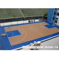 Wholesale Plastic Basketball Court Indoor Sports Flooring , Environmentally Friendly Flooring, Indoor Floor Tiles from china suppliers