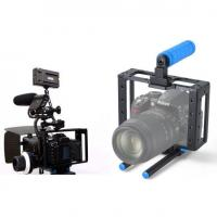 Wholesale New DSLR camera cage RIGS for Canon Dslr 5D MARK II III 7D with 15mm guide rail from china suppliers