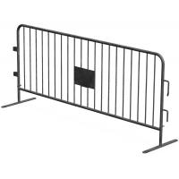 Wholesale full hot dipped galvanized 42 microns zinc thick crowd control barriers 1100mm x 2200mm CCB made in china design by Au from china suppliers