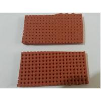 Wholesale yellow / Red Perforated Silicone Foam Sheet Size 10mm X 0.9m X 1.8m from china suppliers