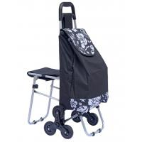 Wholesale Stair Climbing Rolling Shopping Trolley Dolly Multipurpose Laundry Utility Cart with Seat-outdoor chair bag from china suppliers