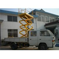 Wholesale Red Vehicle Mounted Work Platforms 150 - 560kg Load For Street Lamp Repairing from china suppliers