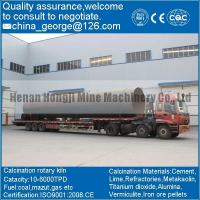 Quality low grade iron ore rotary kiln for sale