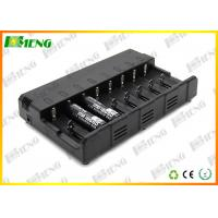 Wholesale 8 Slots Intelligent Lithium Ion Battery Charger Black For E Cigarettes from china suppliers