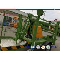 Wholesale Trailer 10 M Diesel Explosion Proof Hydraulic Lifting Platform Electric Articulated Boom Lift from china suppliers