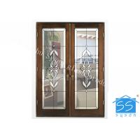 Wholesale Building Opaque Glass Patterns , Brass / Nickel / Patina Textured Glass Patterns from china suppliers