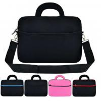 Buy cheap Top-selling Fashionable Neoprene Laptop bag with handles and strap Shockproof Computer case from wholesalers