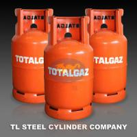 Wholesale Empty Cooking Gas Cylinder , 12.5kg Refillable Gaz Storage Tank from china suppliers