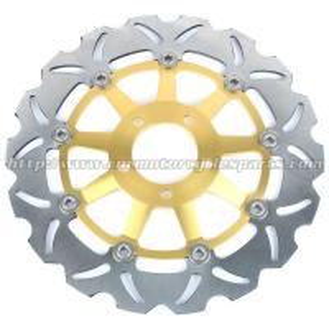 Wholesale ZZR 250 Motorcycle Brake Disc Rotor Kawasaki ZXR 400 Aluminum CNC Milled For Kawasaki from china suppliers