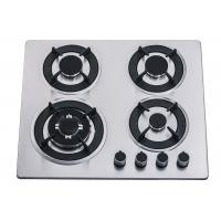 Wholesale 60CM 4 Burner Stainless Steel Gas Hob , Four Burner Stove Top For Home Kitchen from china suppliers
