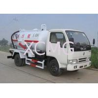 Wholesale High Efficient Special Purpose Vehicles , Sewage Pump Truck For City Environment Protection from china suppliers