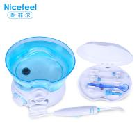 Wholesale small home appliance transparent blue electric water dental oral irrigator from china suppliers