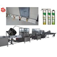 Wholesale Straw Type PU Foam Aerosol Filling Machine from china suppliers