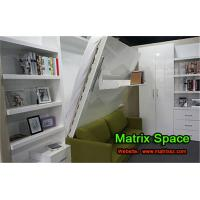 Wholesale Space Saving Murphy Bed Wall Bed , Echo-friendly White High Gloss from china suppliers