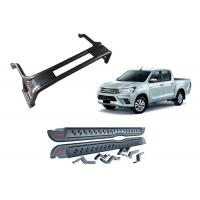 Wholesale Toyota Hilux Revo 2016 TRD Style Steel Side Step Bars And Steel Roll Cage from china suppliers