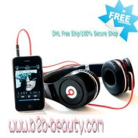 Buy cheap Monster Beats Black By Dr Dre Studio Headphones from wholesalers