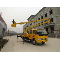 Wholesale Articulated Hydraulic Boom lift platform truck,  Aerial Platform Truck Wheel Base 3300  mm from china suppliers