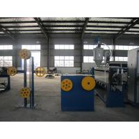 Wholesale UL Electronic Wire Hdpe Pipe Extruder , Φ80 mm Screw Dia Continuous Extrusion Machine from china suppliers