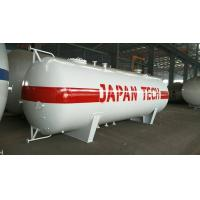 Wholesale Q345R 10MT Horizontal LPG Tank , 20000 Liters Propane Gas Storage Tank from china suppliers