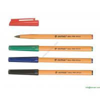 Wholesale hexagonal body office pen,hexagonal promotional simple pen from china suppliers