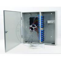 Wholesale Intdoor wall mounted 48 ports fiber optic terminal distribution box from china suppliers