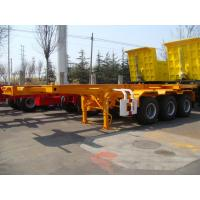 Wholesale 20 Feet-Goose Neck-Sleletal Container Semi-Trailer from china suppliers
