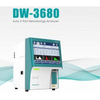 China 21 Parameters 2 Reagent 3 Part Differential Auto DW-3680 CBC Hematology Analyzer for sale