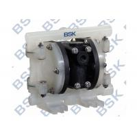 China Plastic Air Operated Diaphragm Pump 2 Diaphragm Pump With Butterfly Valves on sale