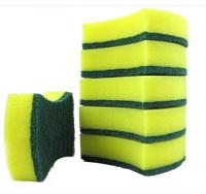 Quality Bathtubs / Showers Dishwashing Sponge , Household Sponges Customized for sale