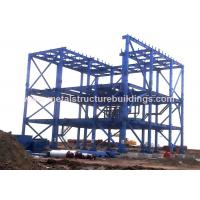 Light Structural Steel Building Workshop Steel Sandwich Panel With Space Frames