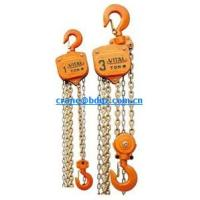 Wholesale 3T*3M HS-VT type manual  chain hoist from china suppliers